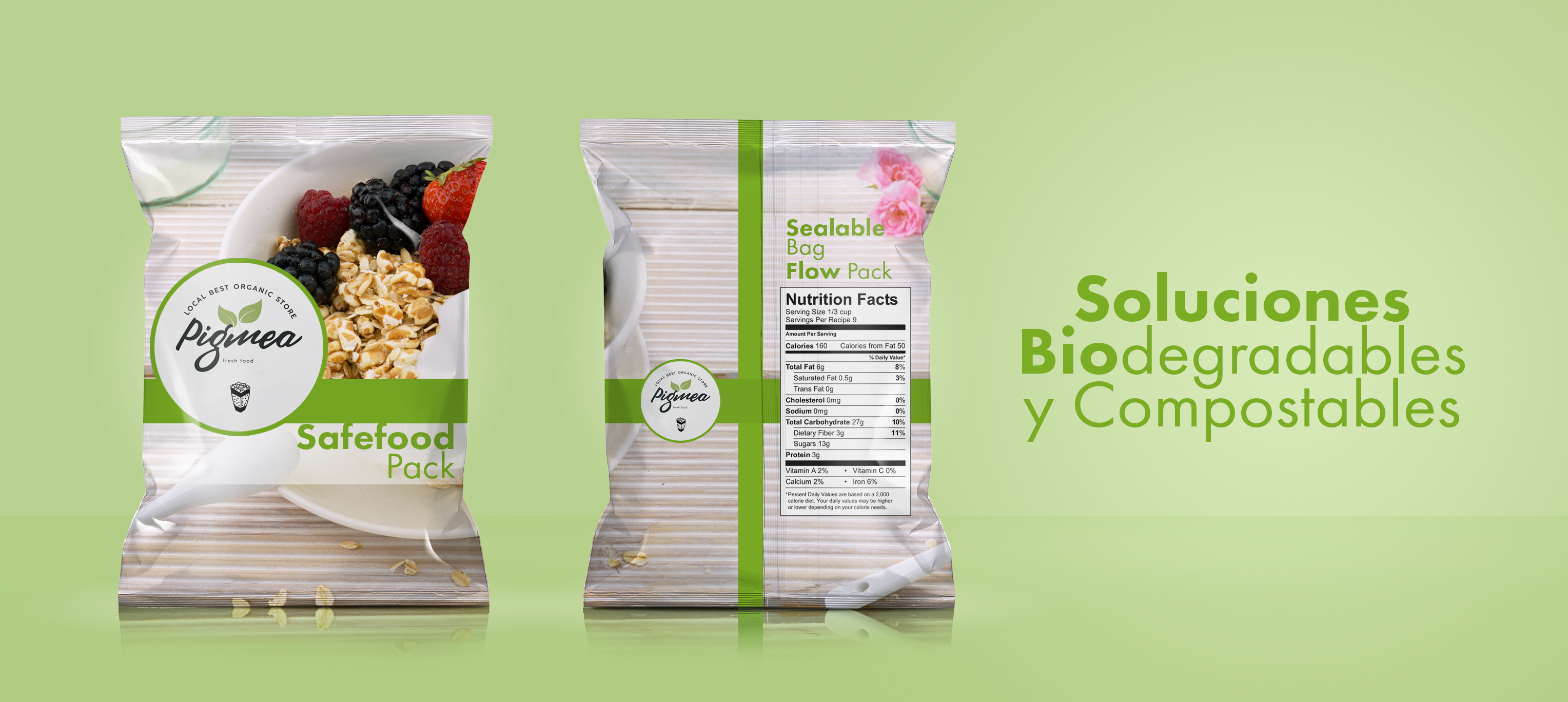 FILM BIODEGRADABLE Y COMPOSTABLE
